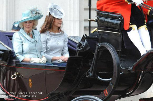 Kate Trooping the Colour 2012