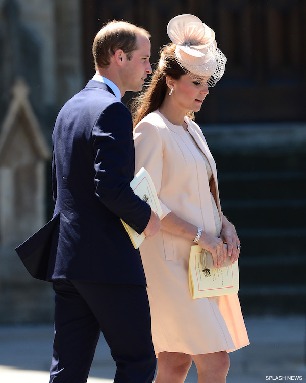The Royal Family attend a service to celebrate the 60th anniversary of the Coronation Service of Queen Elizabeth II, at Westminster Abbey in London on June 04, 2013.