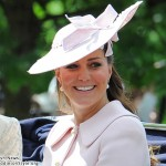 Kate at Trooping of the Colour 2013
