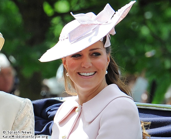 Kate opts for light pink Alexander McQueen coat for Trooping the Colour