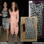 Kate Middleton Black Zara Dress