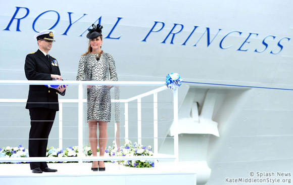 Kate christens Royal Princess