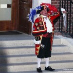 The baby is born! Town crier announces!