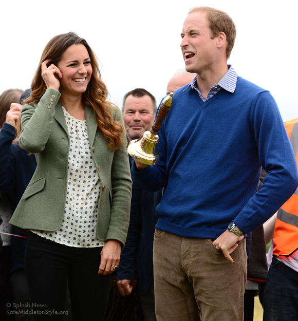 kate joined William at Anglesey ultramarathon
