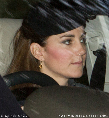 Kate heads to church while staying at the Balmoral estate