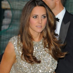 Kate dazzles at 2013 Tusk Conservation Awards in sequinned Jenny Packham dress