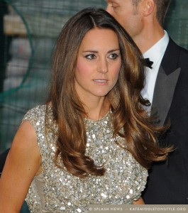 Kate dazzles at 2013 Tusk Conservation Awards in sequined Jenny Packham dress