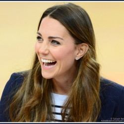 Kate visits SportsAid athlete workshop 'recycling' Olympics outfit
