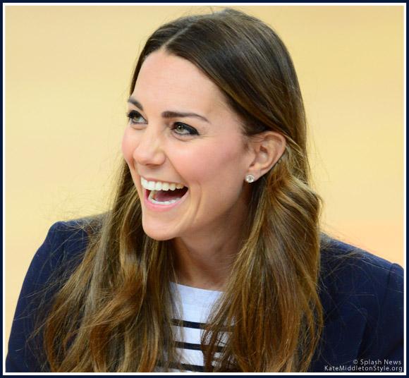 Kate Middleton wearing Kiki McDonough Grace earrings