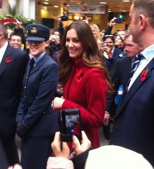 Kate Middleton London Poppy Day