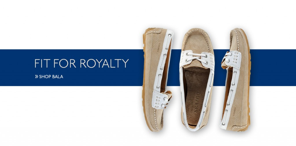 Sebago Bala as worn by Kate Middleton
