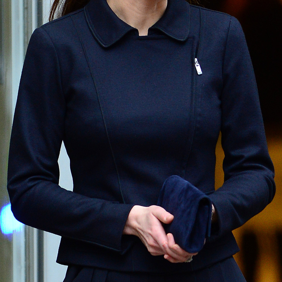 Kate Middleton's blue Max Mara Jacket