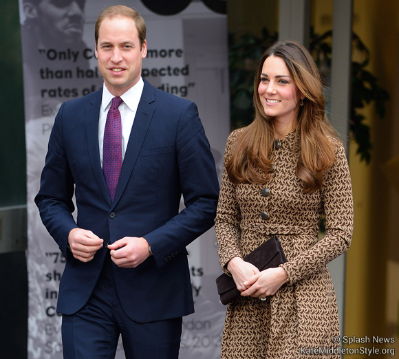 Kate and William visit Only Connect