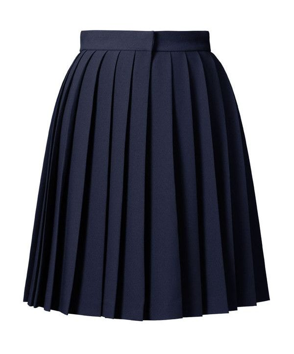 Blue Pleated Orla Kiely Skirt