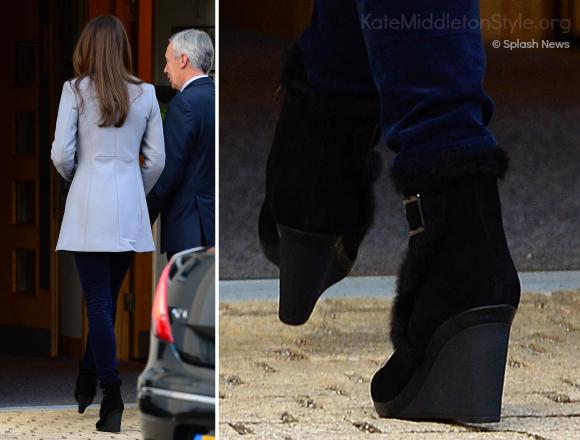 Duchess of Cambridge's Aquatalia Boots