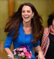 Kate Middleton Art Room Visit
