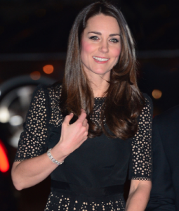Kate attends her first SportsBall event