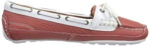 Sebago Bala Boat Shoe in Salmon Pink