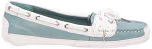 Sebago Bala Boat Shoe in Aqua Sea Glass