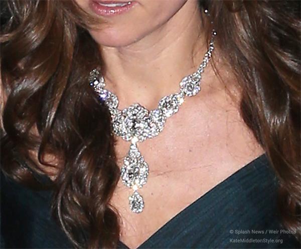 Kate's diamond necklace
