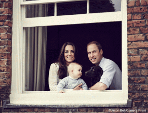 Kate, William, George and Lupo's newest family portrait
