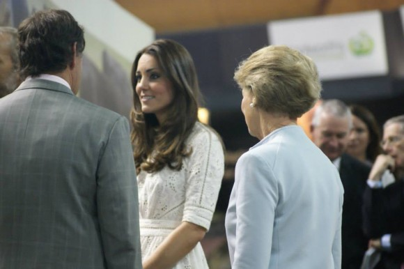Kate visiting the Royal Easter Show. © Royal Easter Show Facebook Page