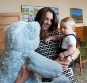 Apr-2014 - Prince George and Plunket Bear