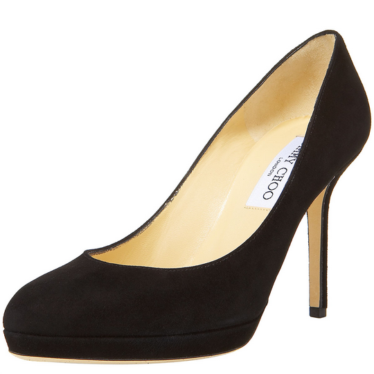 Jimmy Choo Amiee Pumps in Black Suede
