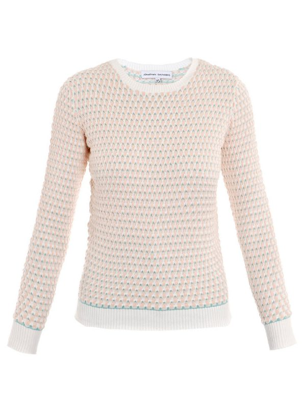 Jonathan Saunders Oval Sweater