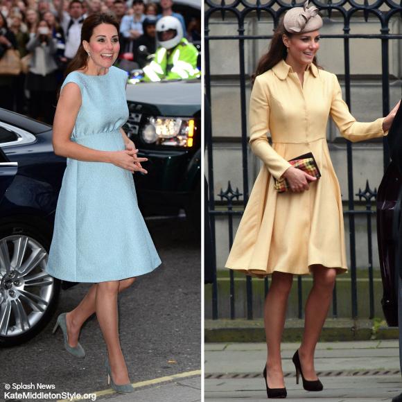 Kate Middleton wearing Emilia Wickstead
