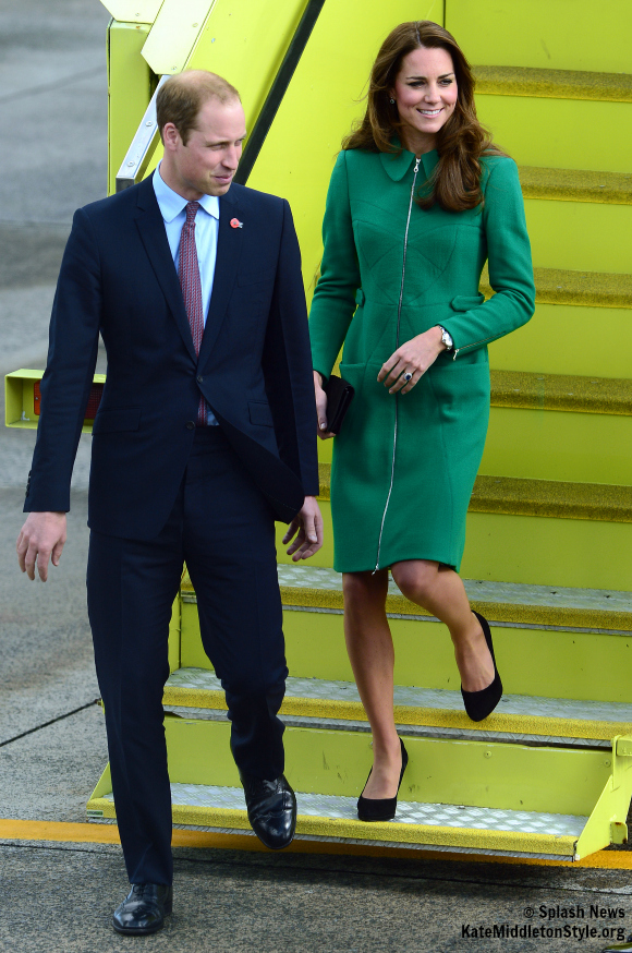 William and Kate visit Cambridge and Hamilton today.
