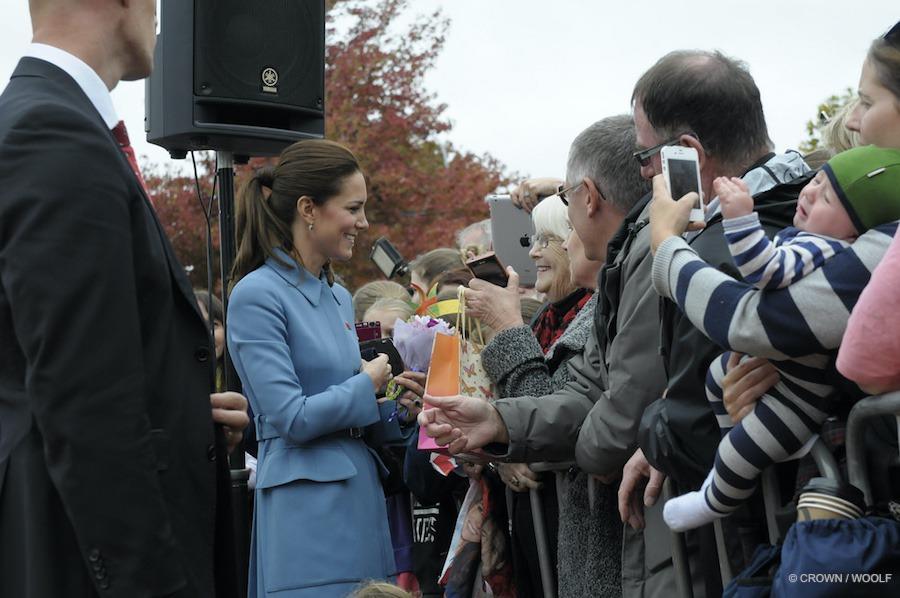 Kate Middleton in Blenheim, New Zealand
