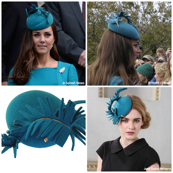 Kate's Teal Jane Taylor Hat