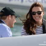 Kate wore her RayBan sunglasses during the 2014 tour of Australia and New Zealand