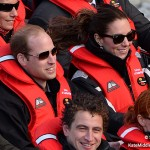 Kate and William in the Shotover Jet
