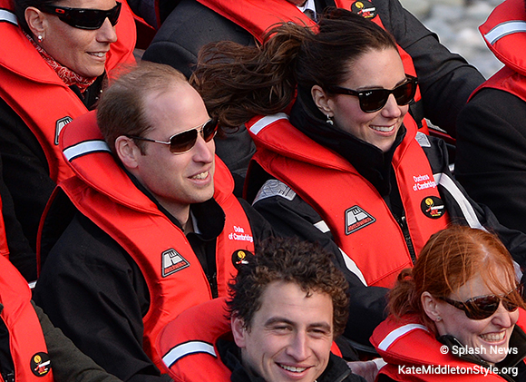 Kate Middleton wears the Musto BR1 Channel sailing jacket while what water rafting in New Zealand