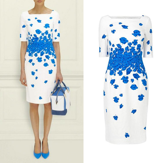 L.K. Bennett Lasa Poppy Dress