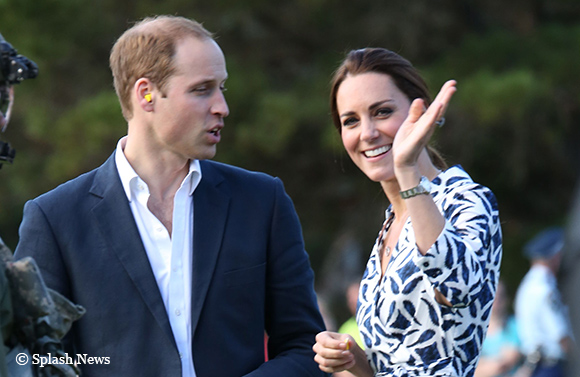 Day eleven, William and Kate visit Blue Mountains in Australia