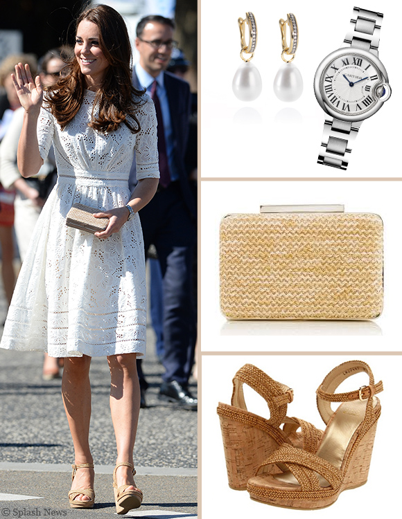 Kate Middleton's outfit in Sydney