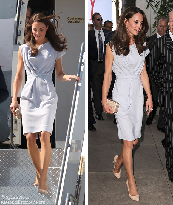 Kate wearing Roksanda Ilincic back in 2011 for the USA leg of their North America tour