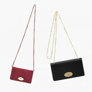 Mulberry Bayswater Clutch in Suede