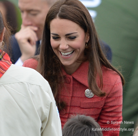 Kate Middleton Celtic Brooch