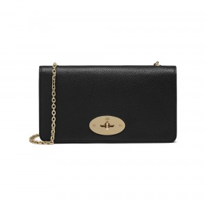 Mulberry Bayswater Clutch Bag in Black