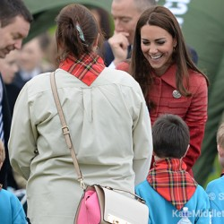 William and Kate visit Scotland