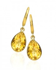 kiki mcdonough citrine drop earrings