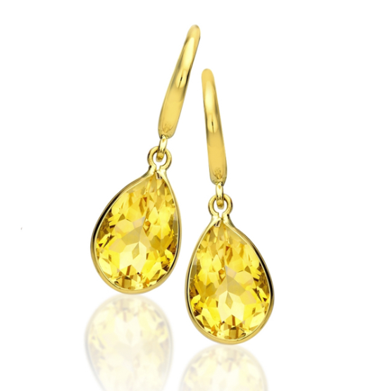 Kiki McDonough Citrine Earrings
