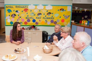 Kate visits EACH in support of Children's Hospice Week
