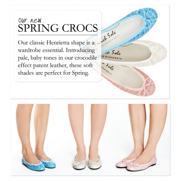 French Sole Henrietta for Spring
