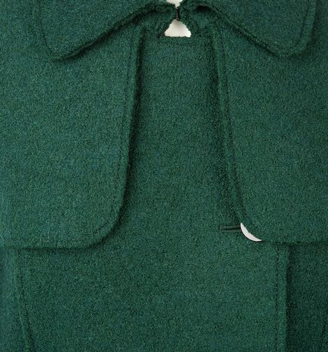 Hobbs Persephone coat in green