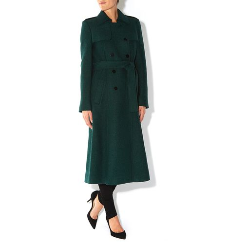 Hobbs Persephone Trench in Green